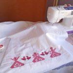 швейно-вышивальная машина для вышивки