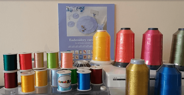 нитки для вышивальной машины